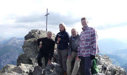 Am Gipfel des Hohen Rifflers - 3168m