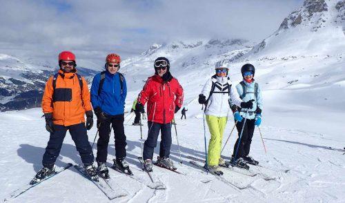 Artikelbild zu Artikel Sonnige Tage im Oberengadin La Punt St. Moritz