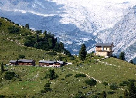 Das Schachenhaus im Karwendel