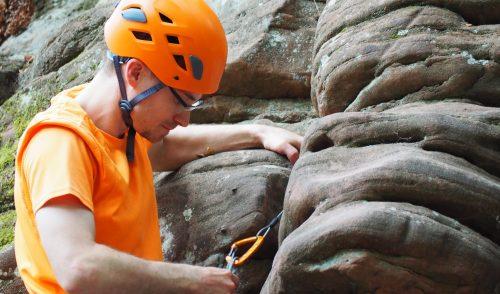 Artikelbild zu Artikel Ausbildung mobile Sicherungsmittel: Trad.-Climbing in der Pfalz