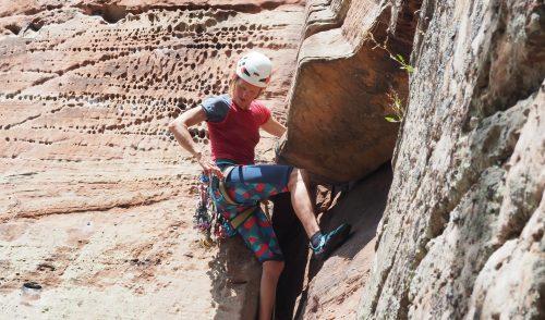 Artikelbild zu Artikel Gemeinschaftstour Klettern im Dahner Felsenland 29.05.21