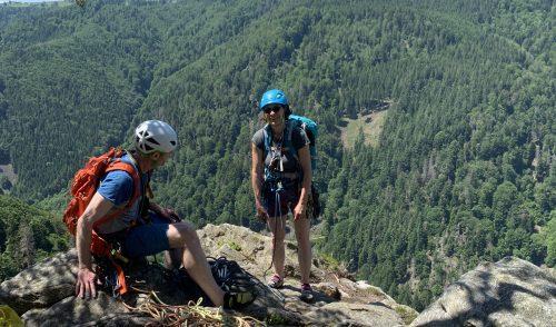 Artikelbild zu Artikel Klettern im Dreisamtal: Gemeinschaftstour Gfäll 12./13.06.21