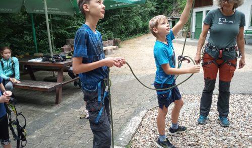 Artikelbild zu Artikel Ferienspiele beim DAV Weinheim